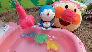 アンパンマン ドラえもん おもちゃ トイレ お風呂 シャワー カプセル♡アンパンおねえさん♡ thumbnail