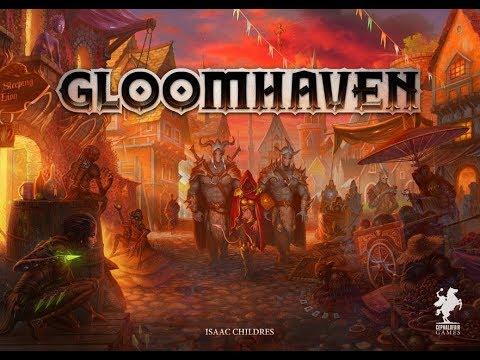 Gloomhaven. Мрачная гавань.