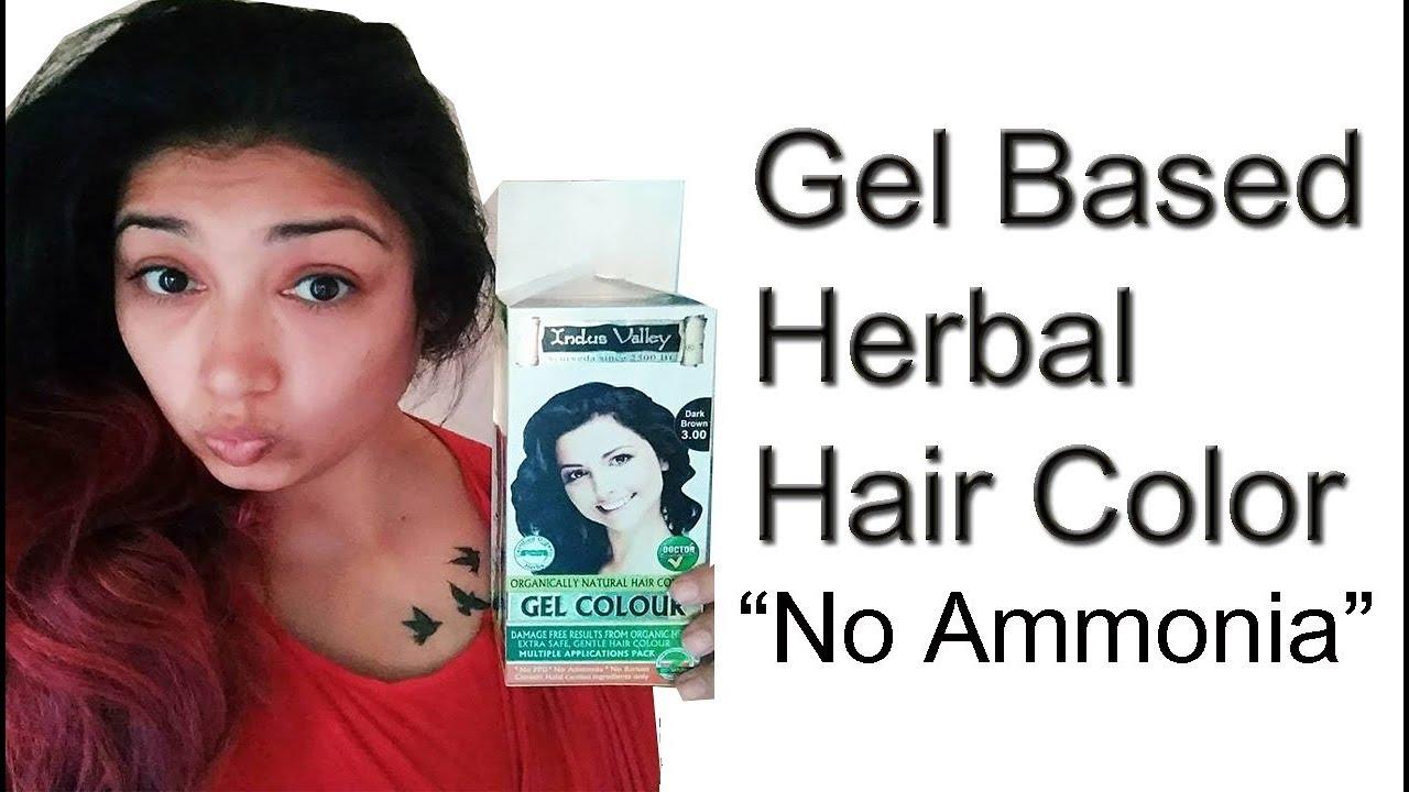 Ayurvedic Herbal Hair Color No Ammonia Indus Valley Hair Color