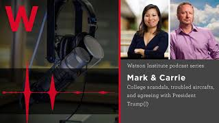 Baixar Mark & Carrie – College scandals, troubled aircrafts, and agreeing with President Trump(!)