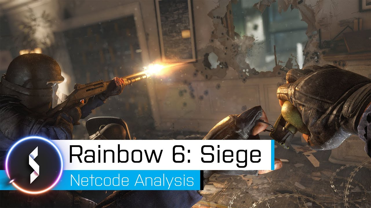 Rainbow Six Siege netcode analysis reveals issues with lag