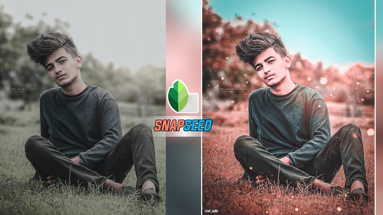 New Snapseed Photo Editing Trick 😲 | Snapseed Background Colour Change - AF EDIT