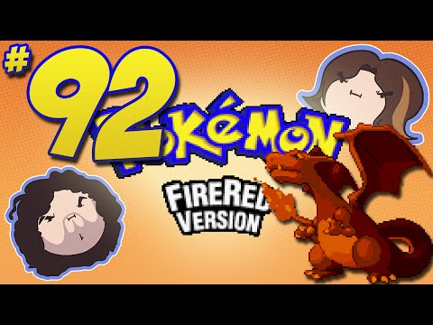 Pokemon FireRed: 87th Time's a Charm! - PART 92 - Game Grumps