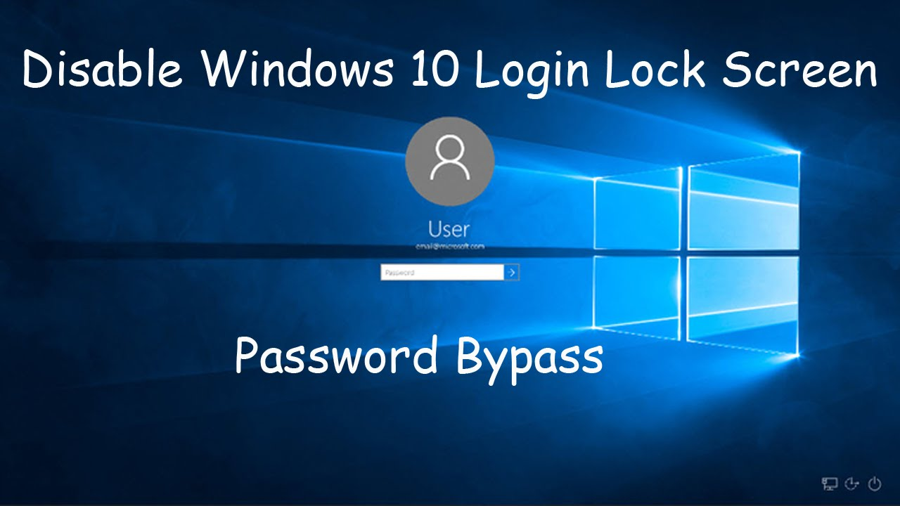 how to turn off password on windows 10