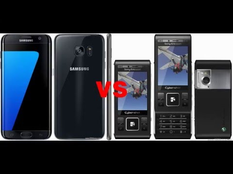 Samsung Galaxy S7 edge vs 8 year old Sony Ericsson C905 camera comparasion