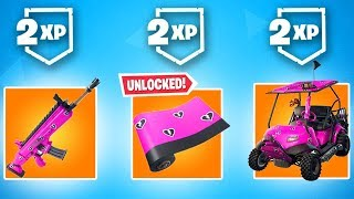 FREE CUDDLE HEARTS WRAP + DOUBLE XP | Share The Love Event (Fortnite Battle Royale)