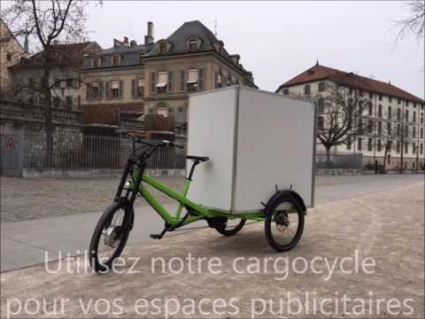 La publicité autrement par Ecomotrice Genève SA