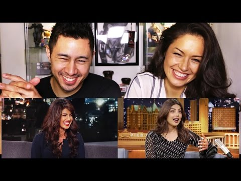 PRIYANKA CHOPRA on Jimmy Kimmel & Jimmy Fallon | REACTION