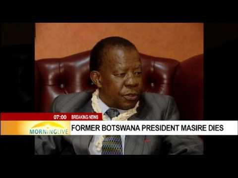 Former Botswana President Sir Ketumile Masire dies aged 91