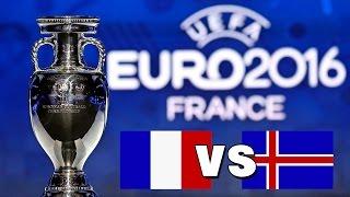 UEFA EM 2016 Viertelfinale: Frankreich vs. Island