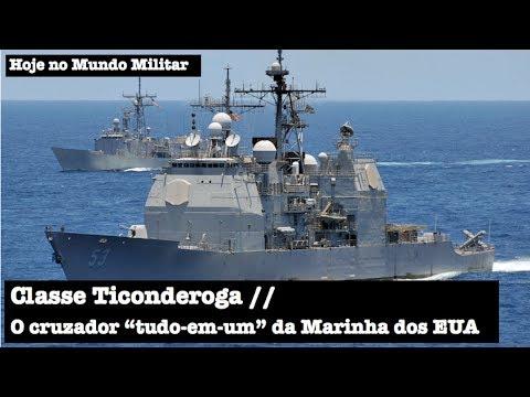 """Classe Ticonderoga, o cruzador """"tudo-em-um"""" da Marinha dos EUA"""