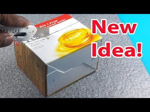 Amazing Craft from Pears Soap Box - DIY Best out of Waste Craft Organiser