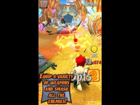 Caveman Dino Rush - Trailer (iOS, Android)