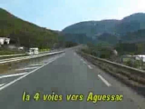 100 km de Millau en accéléré...