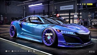 Need for Speed Heat - Acura NSX 2017 - Customize | Tuning Car (PC HD) [1080p60FPS]