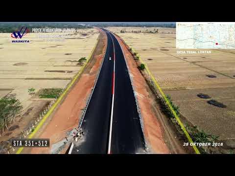 Proyek Jalan Tol Pemalang-Batang (PBTR) Paket 1 (progres per 28 Oktober 2018)