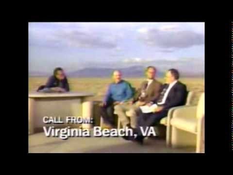 Larry King Live - UFOs - Oct 1, 1994 Filmed Outside Area 51