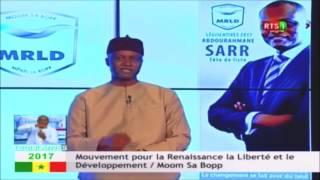 Législatives 2017: 14éme message du Mouvement MOM Sa Bopp Menel Sa Bopp