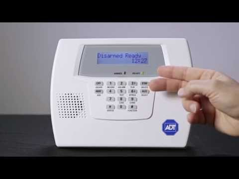 replacing your alarm system battery is easy with adt rh adt com adt focus 32 instruction manual Adt Keypad