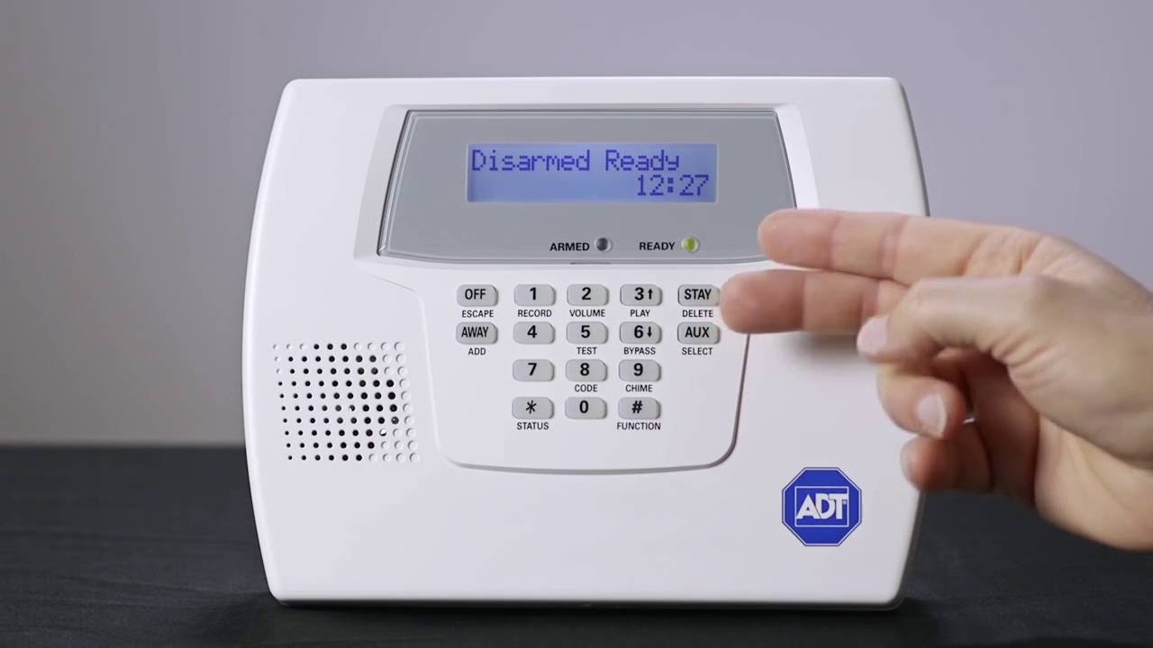 adt home security systems how to identify your model youtube rh youtube com adt dsc manual adt ge alarm panel manual