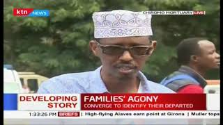 Families\' Agony: Postmortem underway at Chiromo Mortuary as families identify their loved ones