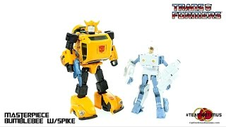 Video Review of the Takara MP-21 Masterpiece Bumblebee w/ Spike