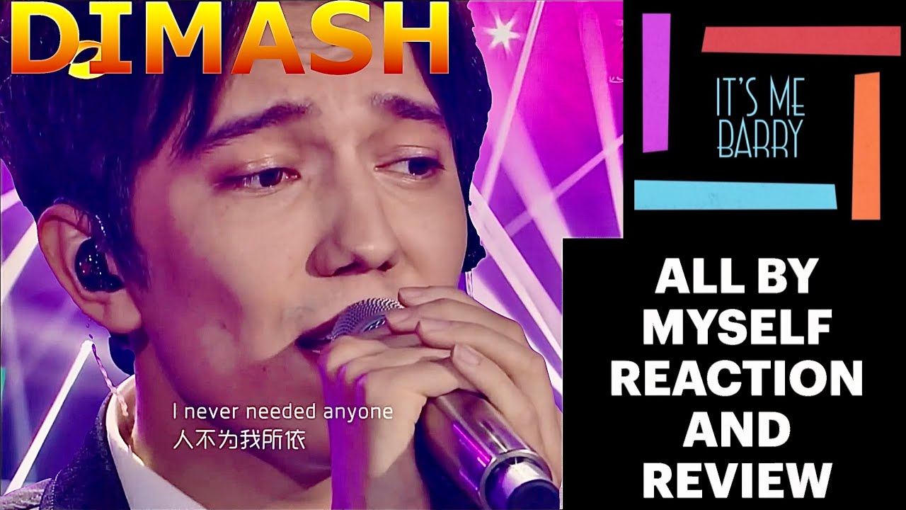 First Time Reaction And Review | All By Myself | Professional SINGER Views It TWICE (Double Dimash)