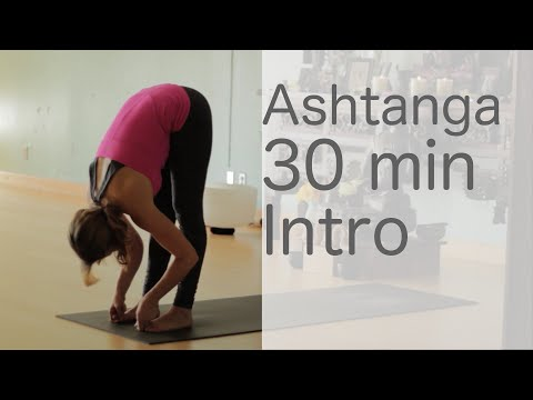Yoga Body Workout: Free yoga class (Ashtanga 30 min intro class)  | Fightmaster Yoga Videos