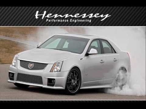 700+ hp 2009 Cadillac CTS-V 6-sd Fly By - Part 1 - YouTube