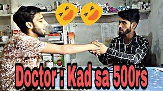 Doctor: kad sa 500rs....comedy by kashmiri superstar