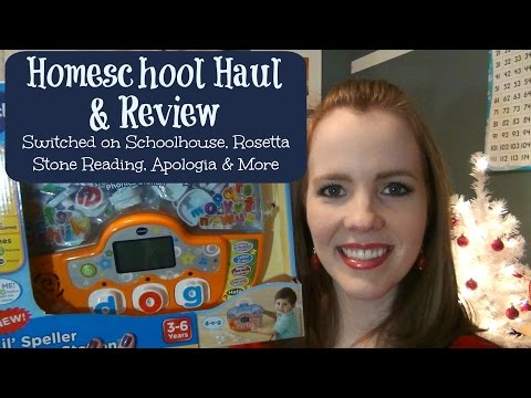 Homeschool Haul & Review:  Switched on Schoolhouse, Rosetta