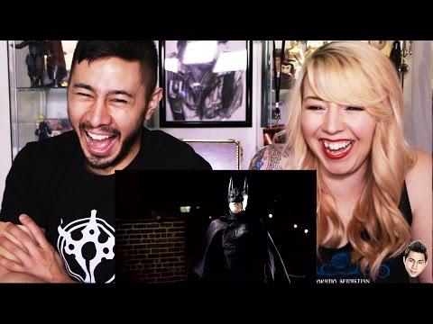 BATMAN VANISHING reaction by Jaby & Tiff Mink!