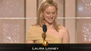 Laura Linney Wins Best Actress Tv Movie - Golden G