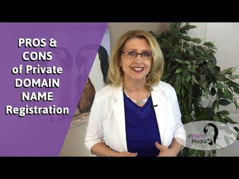 Private DOMAIN NAME Registration PROS & CONS