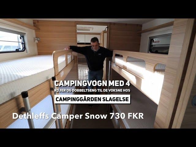Dethleffs Camper Snow FKR hos Campinggården Slagelse
