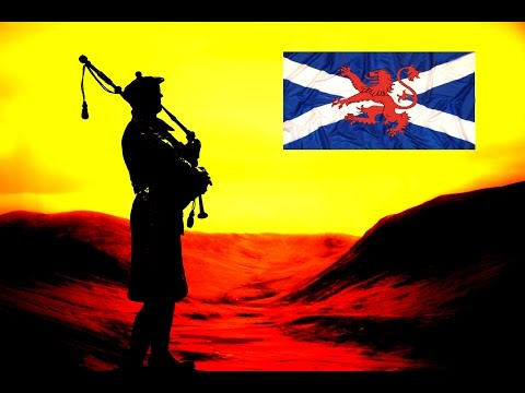 💥Scottish Bagpipes💥Lone Piper💥Mist Covered Mountains💥