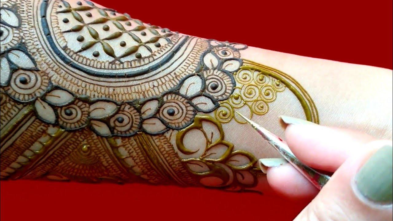 slower  version  also available  on Neha's  Creation  #Hennatutorial #shorts #short
