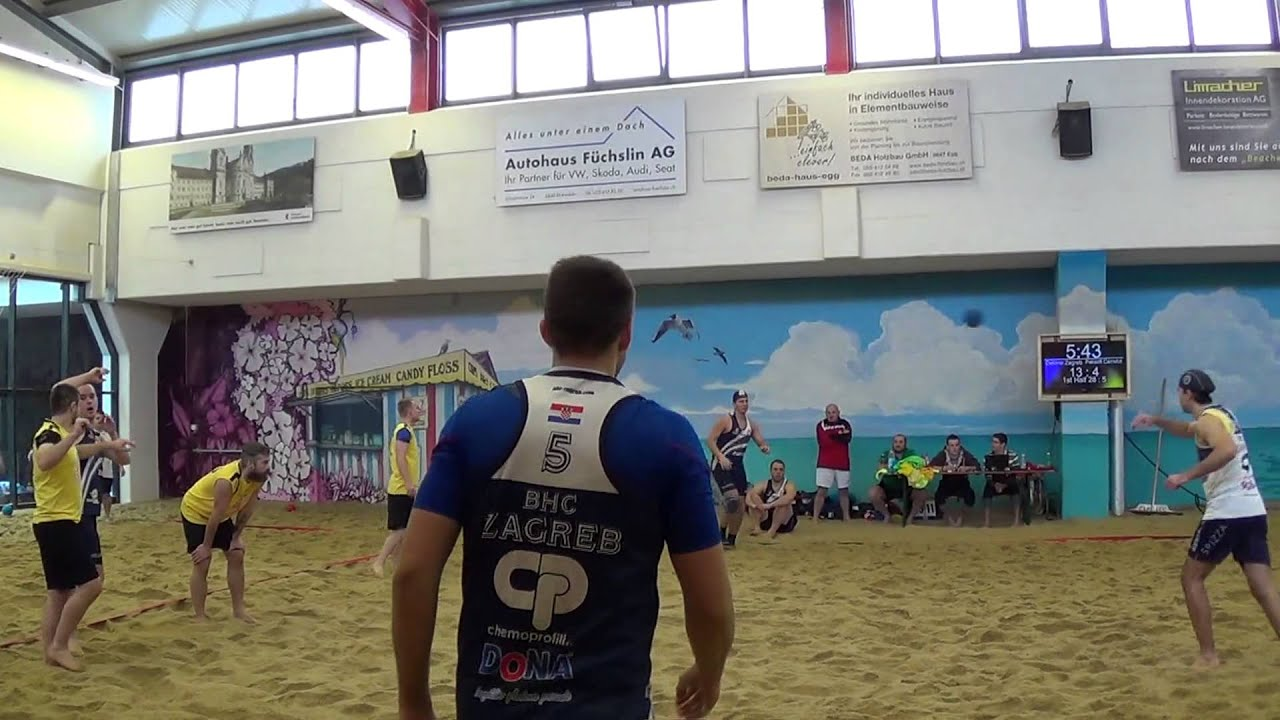2014 game Einsiedeln m1 5 Detono Zagreb Langose quarterfinal - YouTube