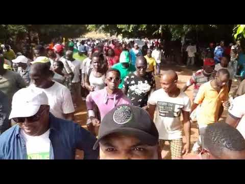 Major Protest March in Bissau 16 November 2017 --4