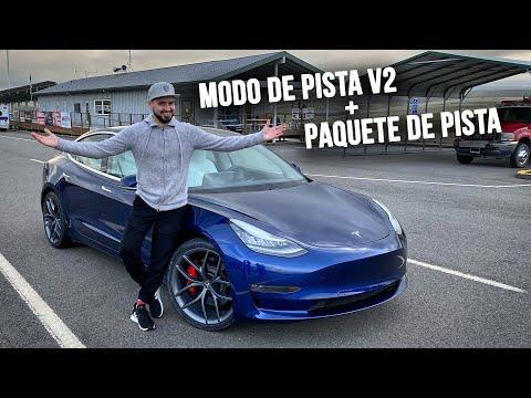 Tesla Creó Un Monstruo en la Pista! Modo de Pista V2 y Paquete de Pista | Salomondrin