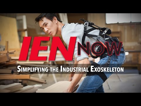 IEN NOW: Simplifying the Industrial Exoskeleton
