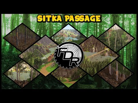 FDR Logging - Map - Sitka Passage - (Available For Download Now!)