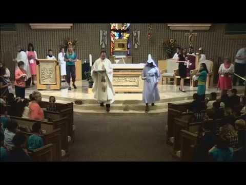 St. Mary Catholic School Mass - Chandler, AZ - October 31, 2014