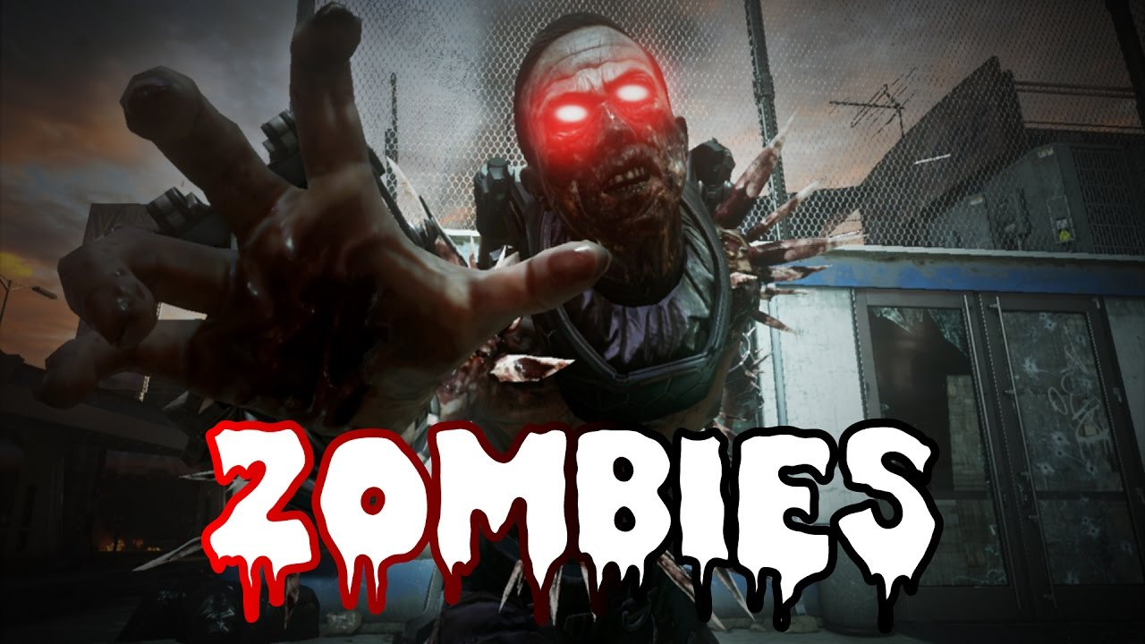 Zombies with the new weapons/deimos (infinite warfare ...