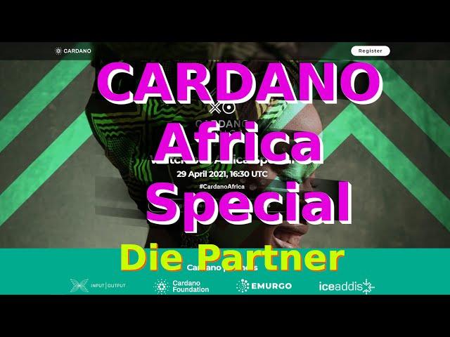 CARDANO Africa Special | Die Partner | Erklärung | Deutsch | NEU 2021 | Afrika