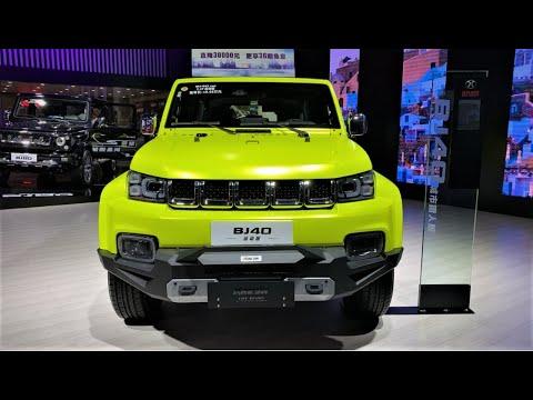 2020 BAIC BJ40 Sport Walkaround—2020 Chengdu Motor Show—2020款北京BJ40运动版,外观内饰实拍
