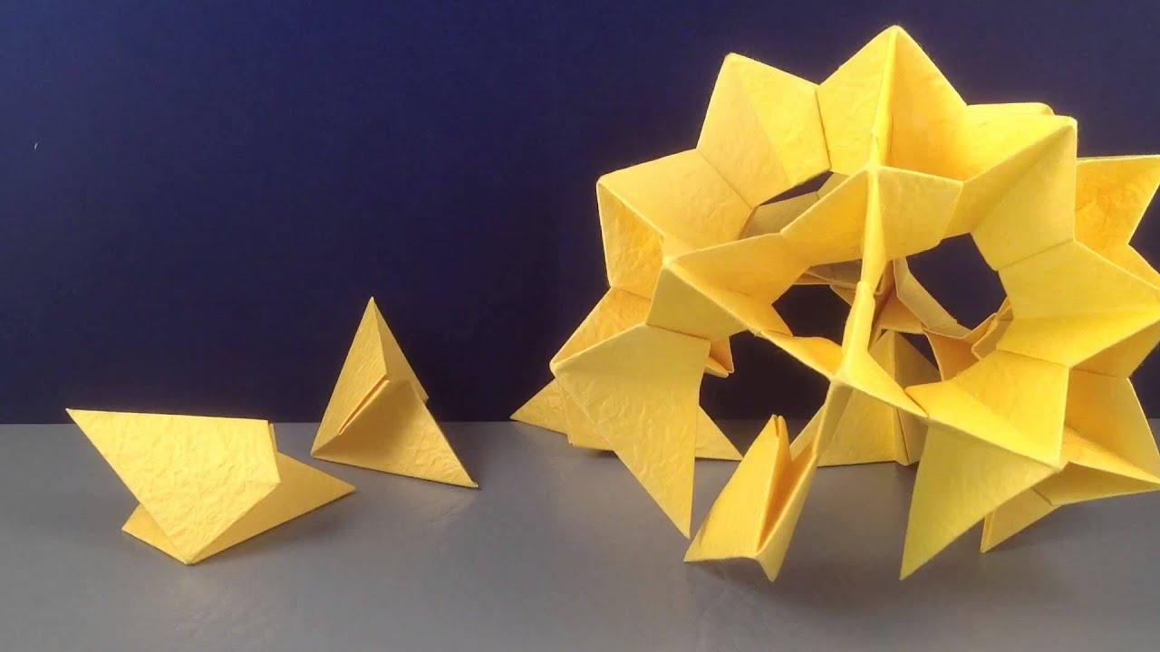 Origami Elektra Ball Youtube