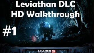 """Leviathan"", full DLC for ""Mass Effect 3"", HD walkthrough (Insanity, Soldier, Paragon), Part 1/2"