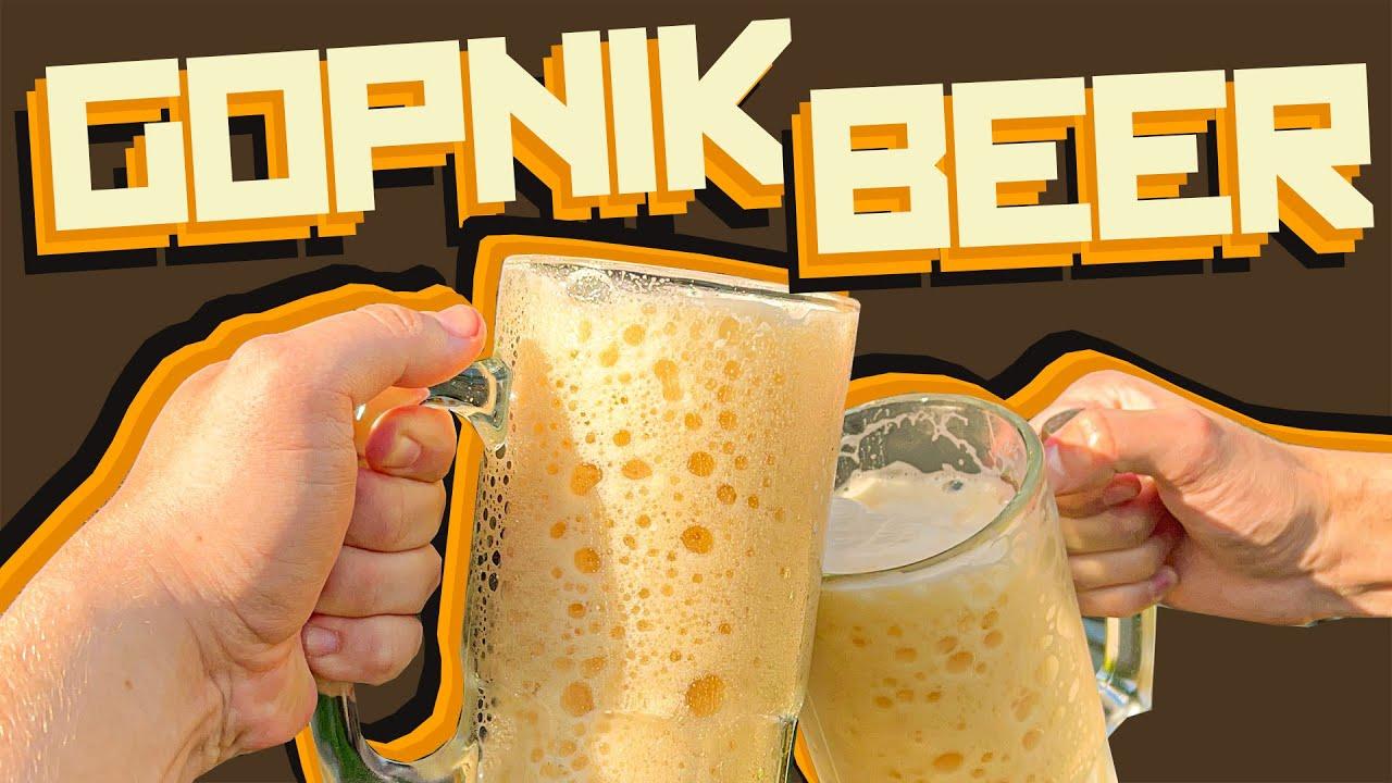 How to make Gopnik Beer - Homemade beer making with Boris