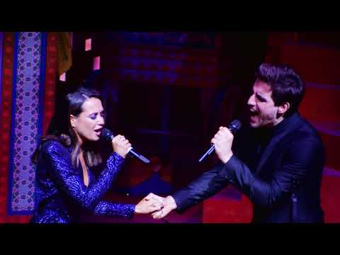 Disneys ALADDIN - Mandy Grace Capristo im Duett mit Philipp Büttner